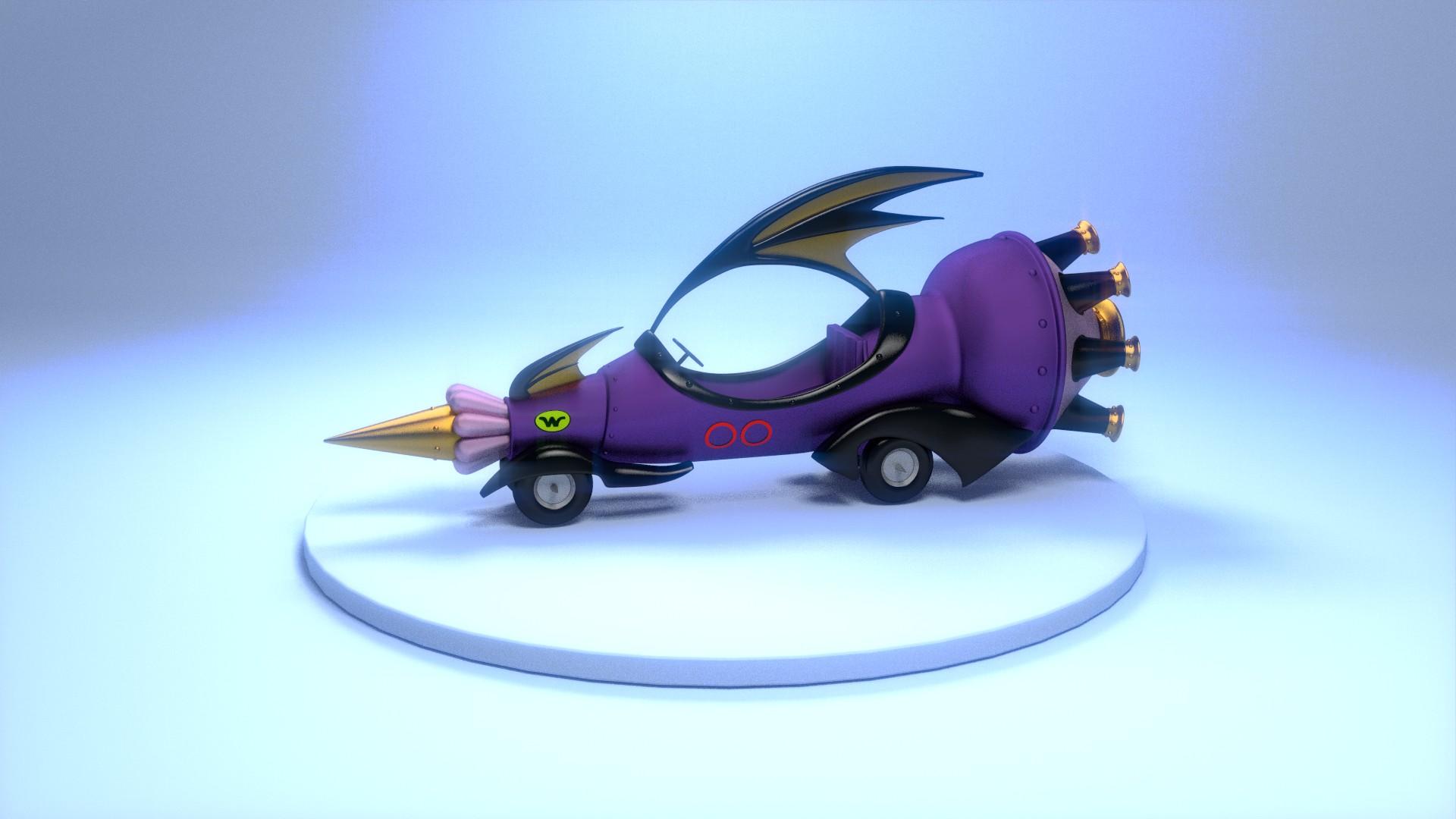 Los autos locos wacky races soliman-00-el_super_perrari.jpg