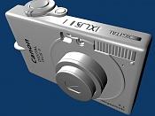 Canon Ixus II poly modeling Blender-uv1.jpg