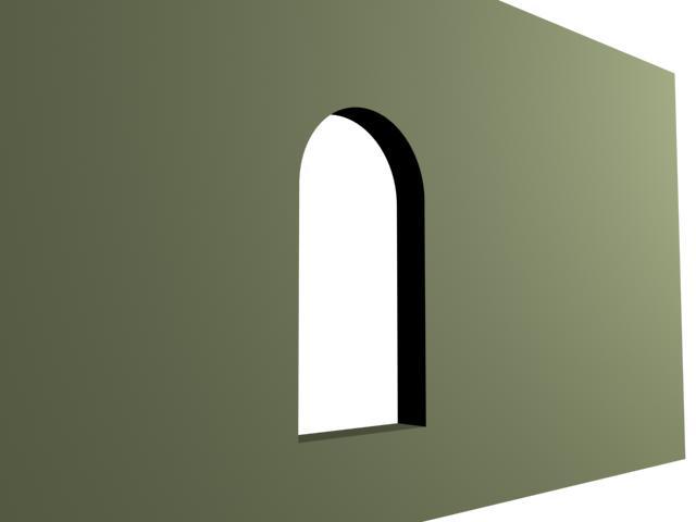 Huecos de ventanas redondeadas - Vano arquitectura ...
