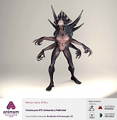 animum: alumnos de todo el mundo demuestran su talento-criatura_hector-sanz_06.jpg