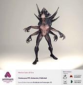 animum: alumnos de todo el mundo demuestran su talento -criatura_hector-sanz_06.jpg