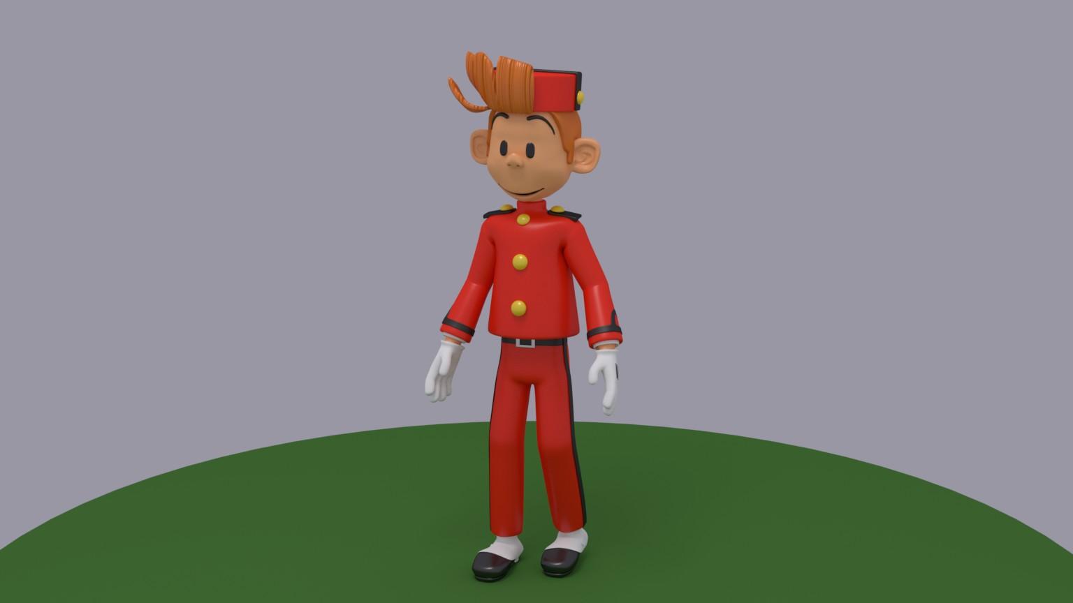 Spirou (personaje comic)-spirou_armature.jpg