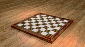 Piezas y tableros de ajedrez-tablero_metales.jpg