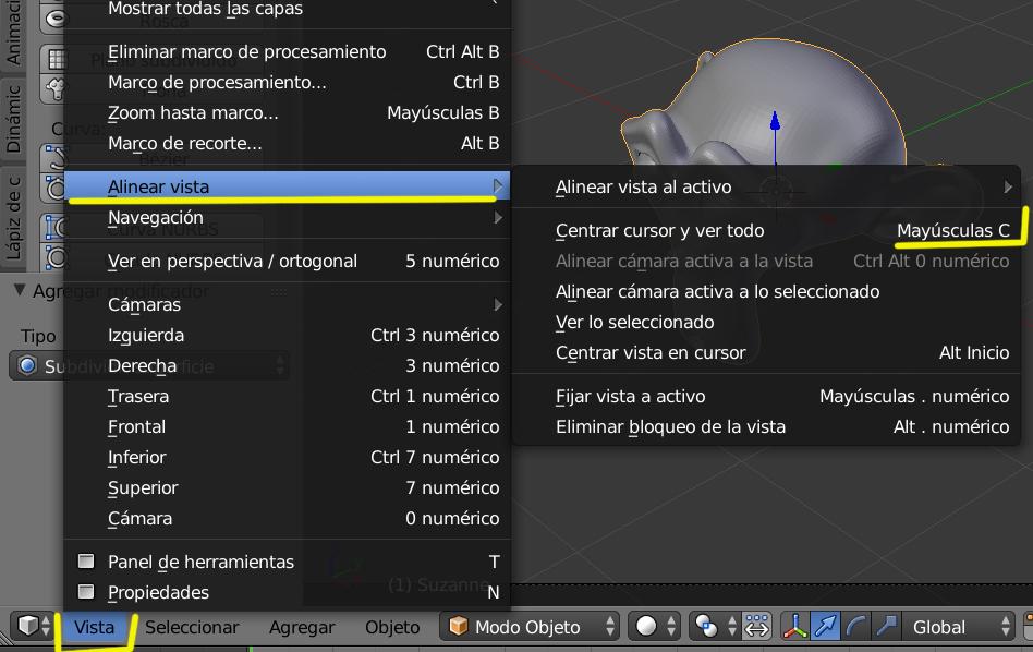 atajo para poner el 3D cursor en el centro -mayusculas.jpg
