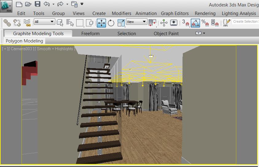 3ds max techo oscuro con iluminaci n vray - Iluminacion de techo ...