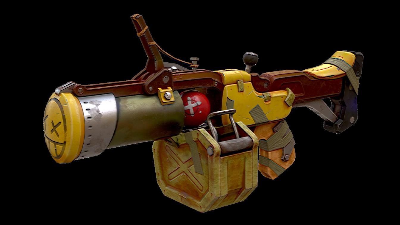 Lanzagranadas de Junkrat (Overwatch)-pistolita.jpg