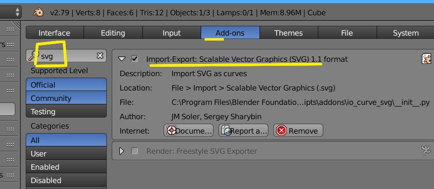 Como solucionar error al importar un archivo .svg en Blender-svg.jpg