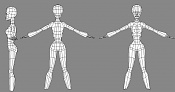 Chica Low Poly  el proceso -28303-wire.jpg