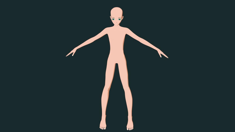 Manuel Bastioni LAB addon Blender-anime1.jpg