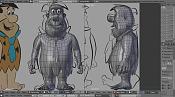Reto de modelado de personajes-wire.png