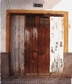 Puerta de vivienda realizada con Painter-porton2.jpg