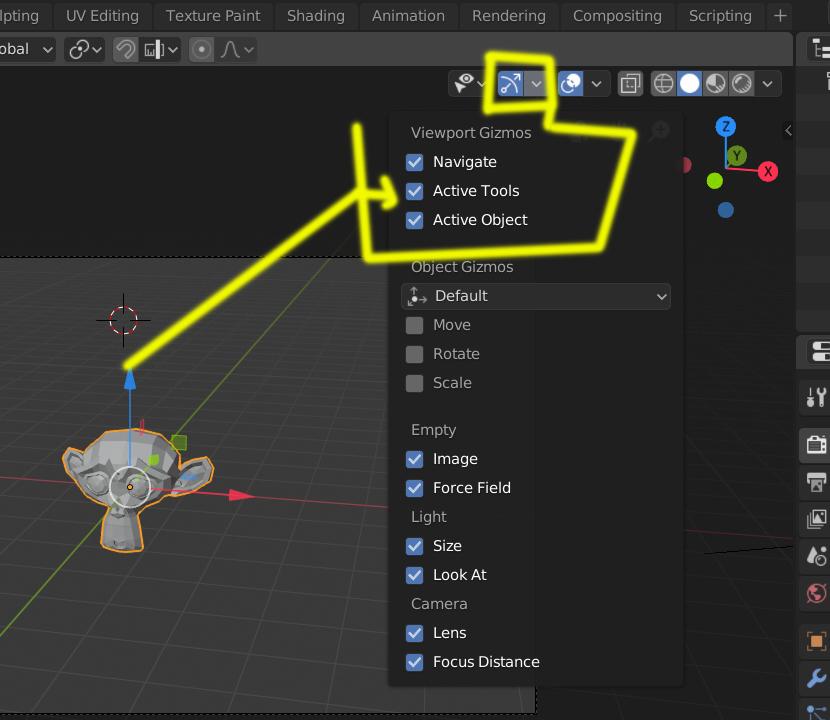 No veo el cursor 3D en Blender-gizmos.jpg
