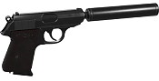 Modelo 3d arma Walther-walther.png