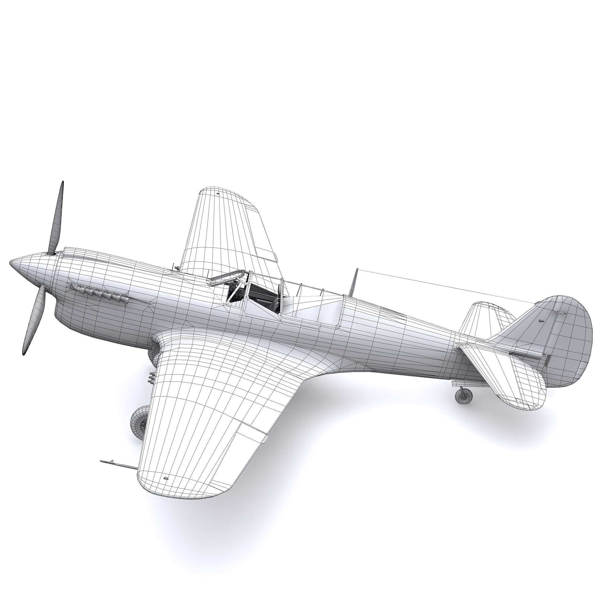 Las texturas del visor no aparecen en el render-modelo-avioneta-3d-sin-texturas.jpg