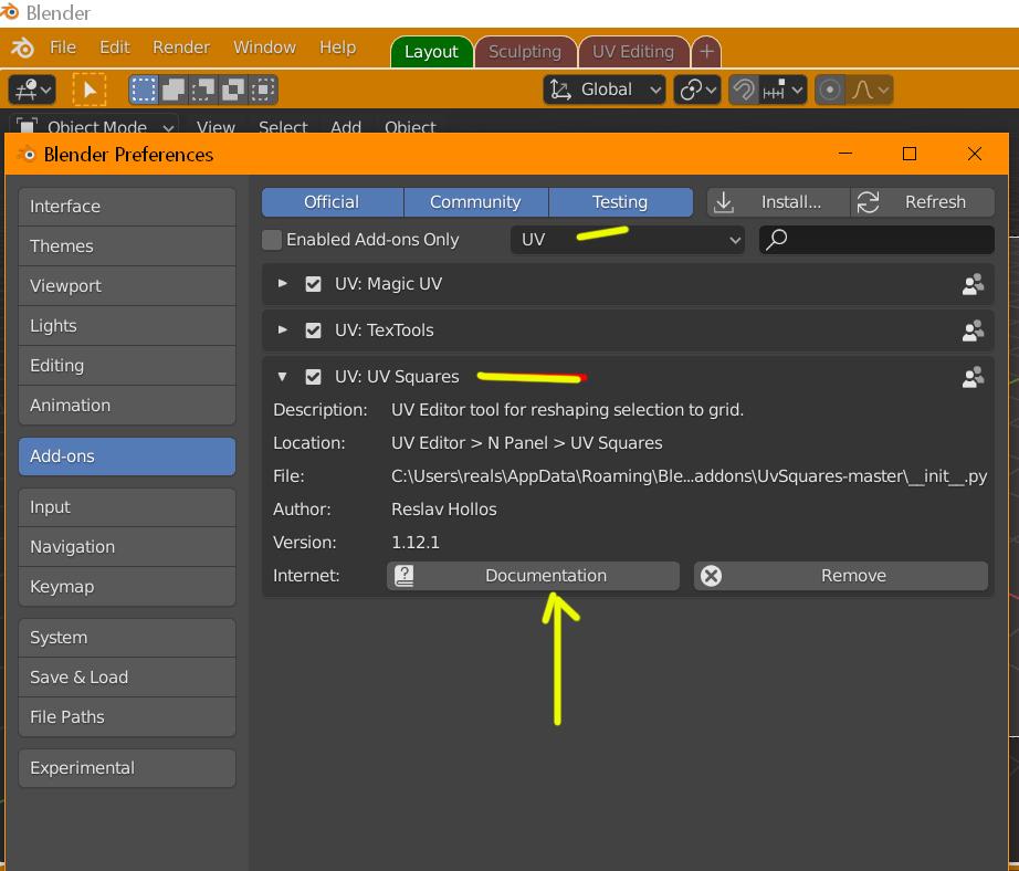 Add-ons para Blender-uv.jpg