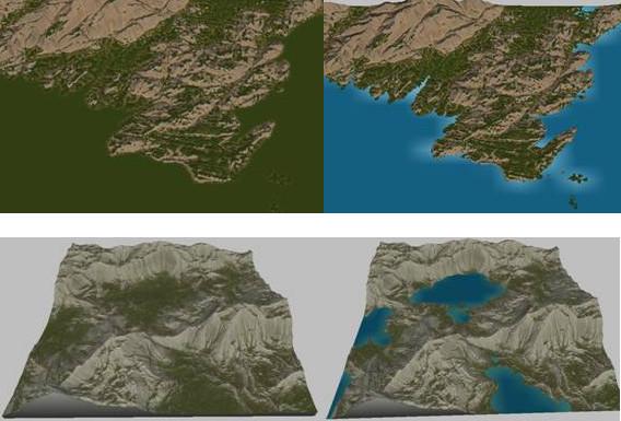 Instant Terra genera mallas de terreno y mapas-agua-en-instant-terra.jpg