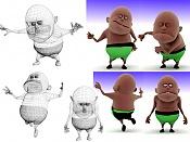 Personaje para animacion en Vray-posturas.jpg