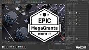 Epic Games recompensa a Maxon por su esfuerzo en integrar Unreal-megagrants-maxon-cinema-4d.jpg