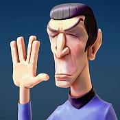 Sr Spock fanart - timelapse en Blender-spock_pp2.jpg