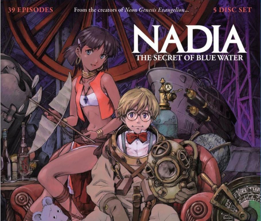 Nadia: el Secreto de la Piedra Azul
