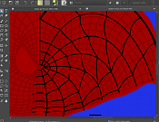 Spidey Fan Art-krita-lineas-uv-captura.png