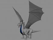 Dragon de bronce WIP-alas.jpg