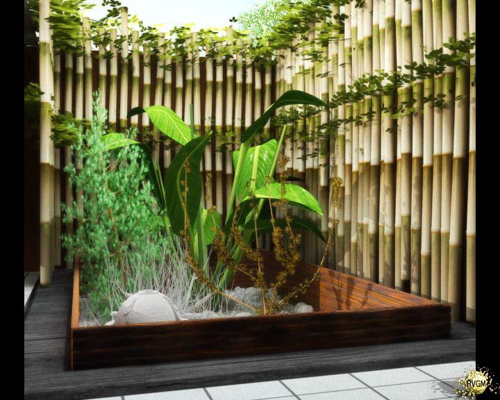 miniaturas adjuntadas jardin