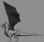 Dragon de bronce WIP-dragon.jpg