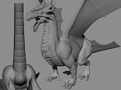 Dragon de bronce WIP-lateral45.jpg