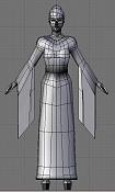 1a actividad Videojuegos: Personaje Low-Poly-geisha1.jpg