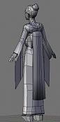1a actividad Videojuegos: Personaje Low-Poly-geisha4.jpg