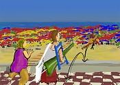 CG Challenge: Basie-a-la-playa.jpg