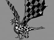Dragon de bronce WIP-uv1.jpg