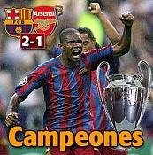FC Barcelona Campeon de Europa 2006-campeones.jpg