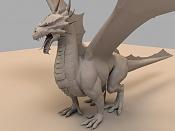 Dragon de bronce WIP-mental.jpg