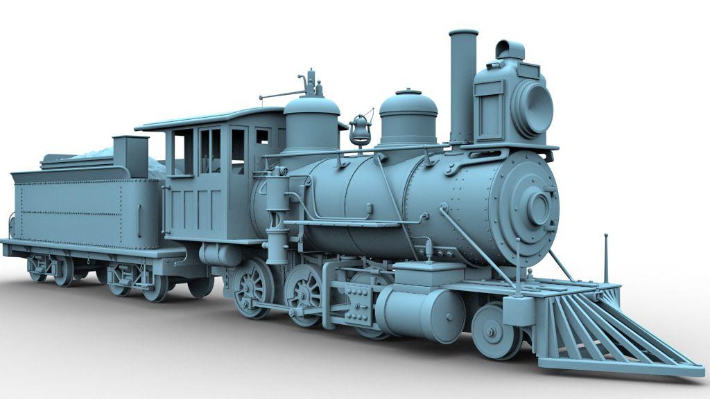 Locomotora cooke 2-6-0