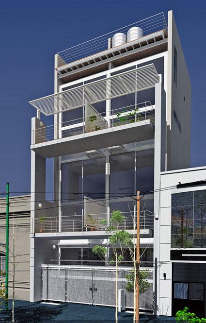 Imagen exterior edificio for Exterior edificios