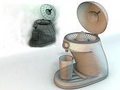 1ª actividad de modelado: Modelar un exprimidor -wireframe.jpg