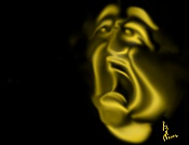 3ª actividad de Ilustracion:   Expresiones Faciales  -dolor.jpg