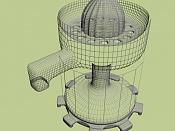 1ª actividad de modelado: Modelar un exprimidor -exprimidorawire.jpg