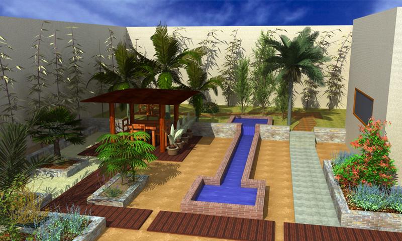Dise o de jardines y exteriores 3d sketchup casa dise o for Diseno jardines exteriores 3d gratis