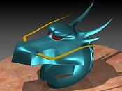W I P  Caballero del dragon-casco5.jpg