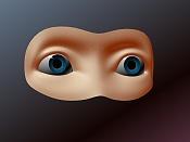 Cabezas: ejercicios de modelado organico -ojos_01.jpg