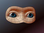 Cabezas: ejercicios de modelado organico -ojos_01wire.jpg