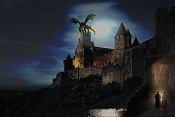 2ª actividad de Postproduccion: Day for Night-castillo-noche.jpg