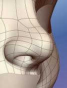 Cabezas: ejercicios de modelado organico -neca_07wire.jpg