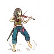 La jedi  proceso -boceto-violinista-pirata.jpg