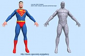 WIP - Superman-renderlowpolywire.jpg