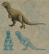 Tyrannosaurus rex   retro  -blueprintspv4.jpg