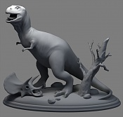 Tyrannosaurus rex   retro  -scenefz2.jpg